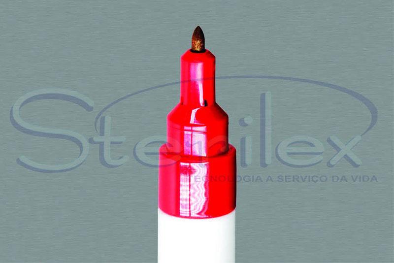 Caneta marcadora para esterilização