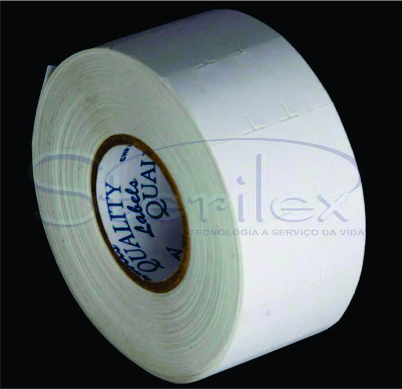 Etiqueta para esterilização