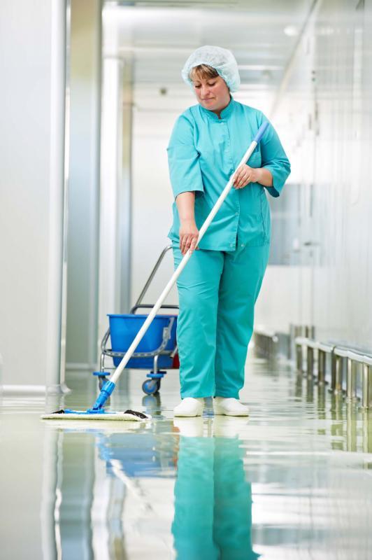 Monitoramento de limpeza hospitalar