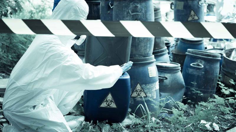 Vestimenta de proteção química